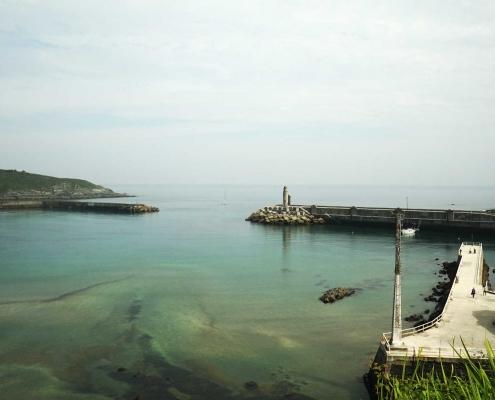 Luarca - Einfahrt Aussenhafen