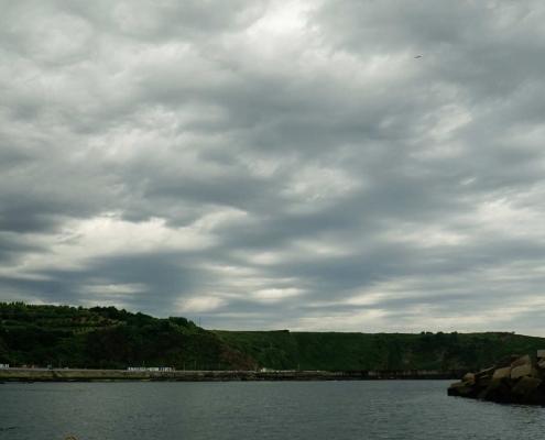 Luanco, Cooles Wetter hier