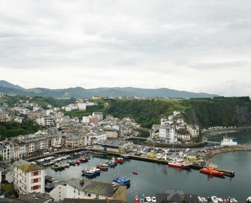 Luarca - Blick auf den Innenhafen