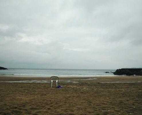Luanco, Strand
