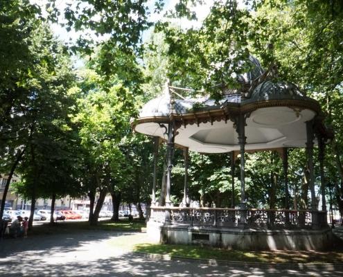 Aviles, Park, viel grün gibt es hier nicht
