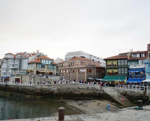 Luanco, alter Innenhafen