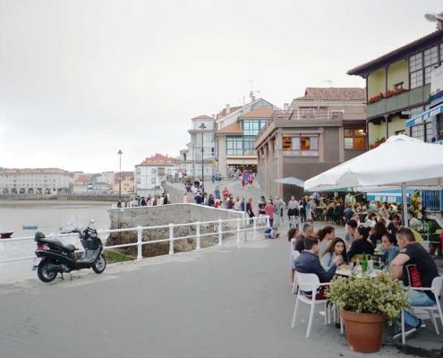 Luanco, Innenhafen