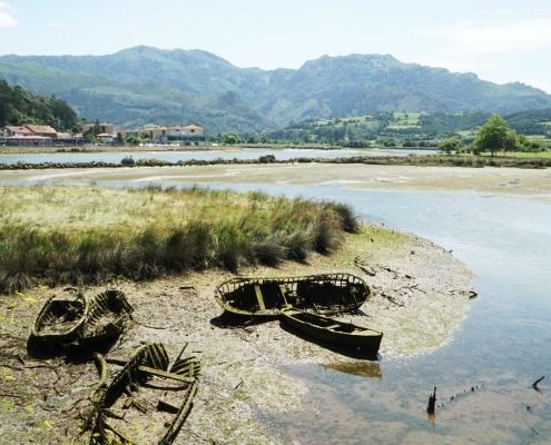 Ribadasella, verlorene Schiffe