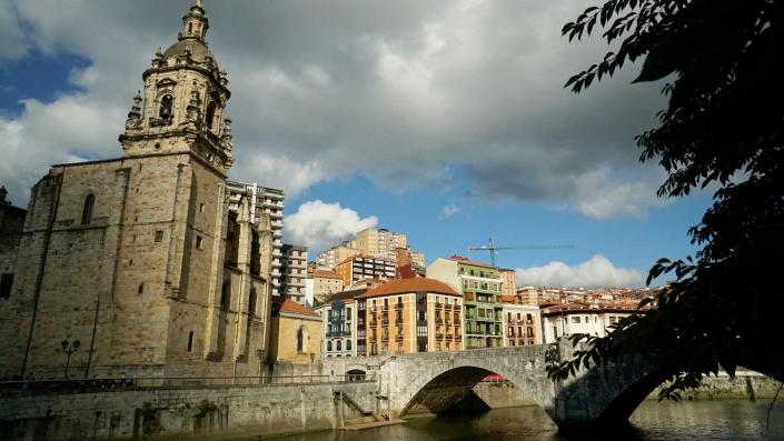 Bilbao - Altstadt - Alte Kirche