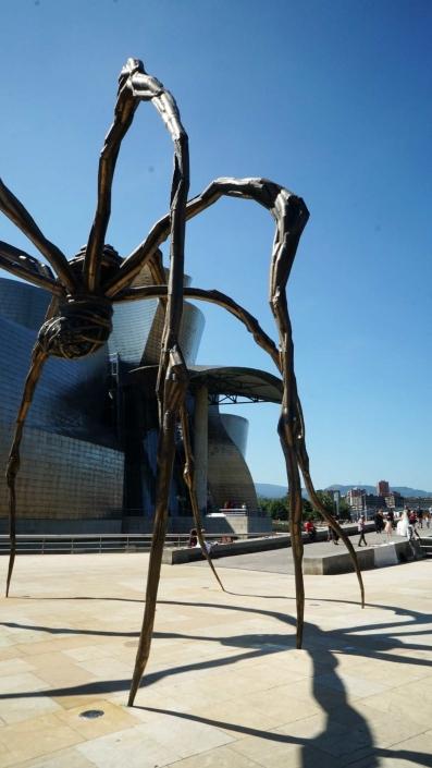 Bilbao, Guggenheim - Spinne