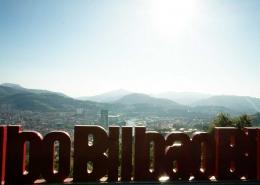 Bilbao - Blick über die Stadt