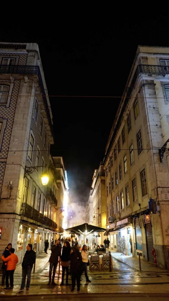 Lissabon - Duft der geräucherten Kastanien