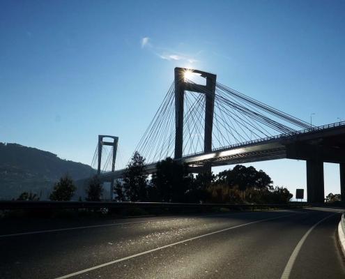 Ria de Vigo - Brücke übe den Ria